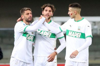Verona-Sassuolo 0-2: video, gol e highlights della partita di Serie A