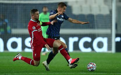 Liverpool-Atalanta 0-0, la partita di Champions League in diretta