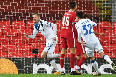 Champions League: Liverpool-Atalanta 0-2, in gol Ilicic e Gosens