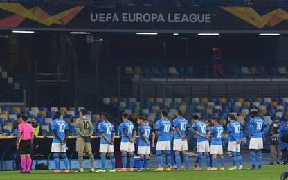 Europa League, Napoli-Rijeka 0-0 LIVE