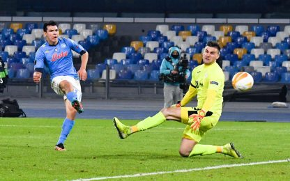 Europa League, Napoli-Rijeka 2-0 video, gol e highlights della partita