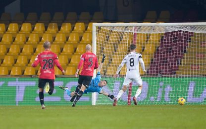 Benevento-Juventus 1-1: gol e highlights della partita di Serie A