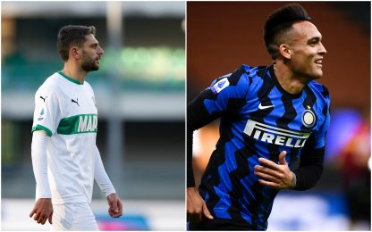 Serie A, Sassuolo-Inter 0-2. DIRETTA