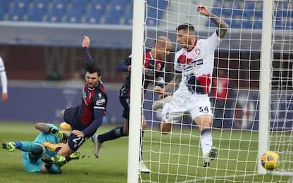Serie A, Bologna-Crotone 1-0: video, gol e highlights