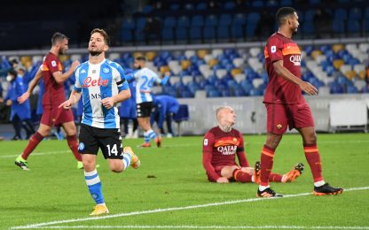 Napoli-Roma 4-0: video, gol e highlights della partita di Serie A