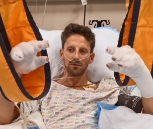 "F1, video di Grosjean dopo l'incidente: ""Grazie a tutti, sto bene"""