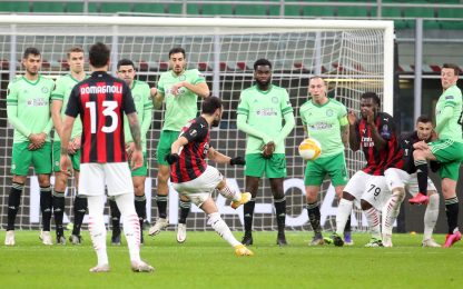 Europa League, Milan-Celtic 4-2: video, gol e highlights della partita