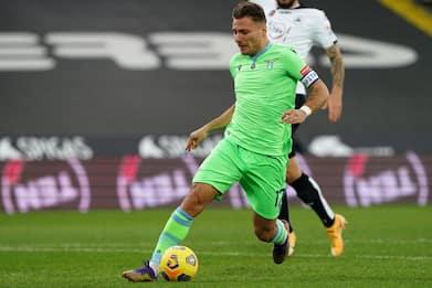 Serie A, Spezia-Lazio 1-2: decidono Immobile e Milinkovic-Savic. VIDEO