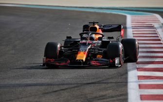 epa08878746 A handout photo made available by the FIA of Dutch driver Max Verstappen of Red Bull Racing in action during the third practice session of the Formula One Grand Prix of Abu Dhabi at Yas Marina Circuit in Abu Dhabi, United Arab Emirates, 12 December 2020. The Formula One Grand Prix of Abu Dhabi will take place on 13 December 2020.  EPA/FIA/F1 HANDOUT  HANDOUT EDITORIAL USE ONLY/NO SALES *** Local Caption *** BAHRAIN, BAHRAIN - NOVEMBER 26: <<enter caption here>> during previews ahead of the F1 Grand Prix of Bahrain at Bahrain International Circuit on November 26, 2020 in Bahrain, Bahrain. (Photo by Rudy Carezzevoli/Getty Images)