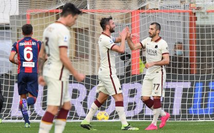 Crotone-Roma 1-3: video, gol e highlights della partita di Serie A