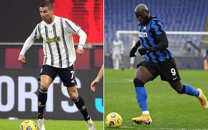 Inter-Juventus: formazioni ufficiali e dove vederla in diretta. FOTO