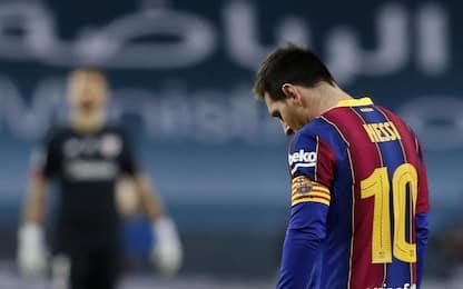 Messi, prima espulsione in carriera con il Barcellona