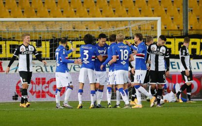 Parma-Sampdoria 0-2: video, gol e highlights della partita di Serie A