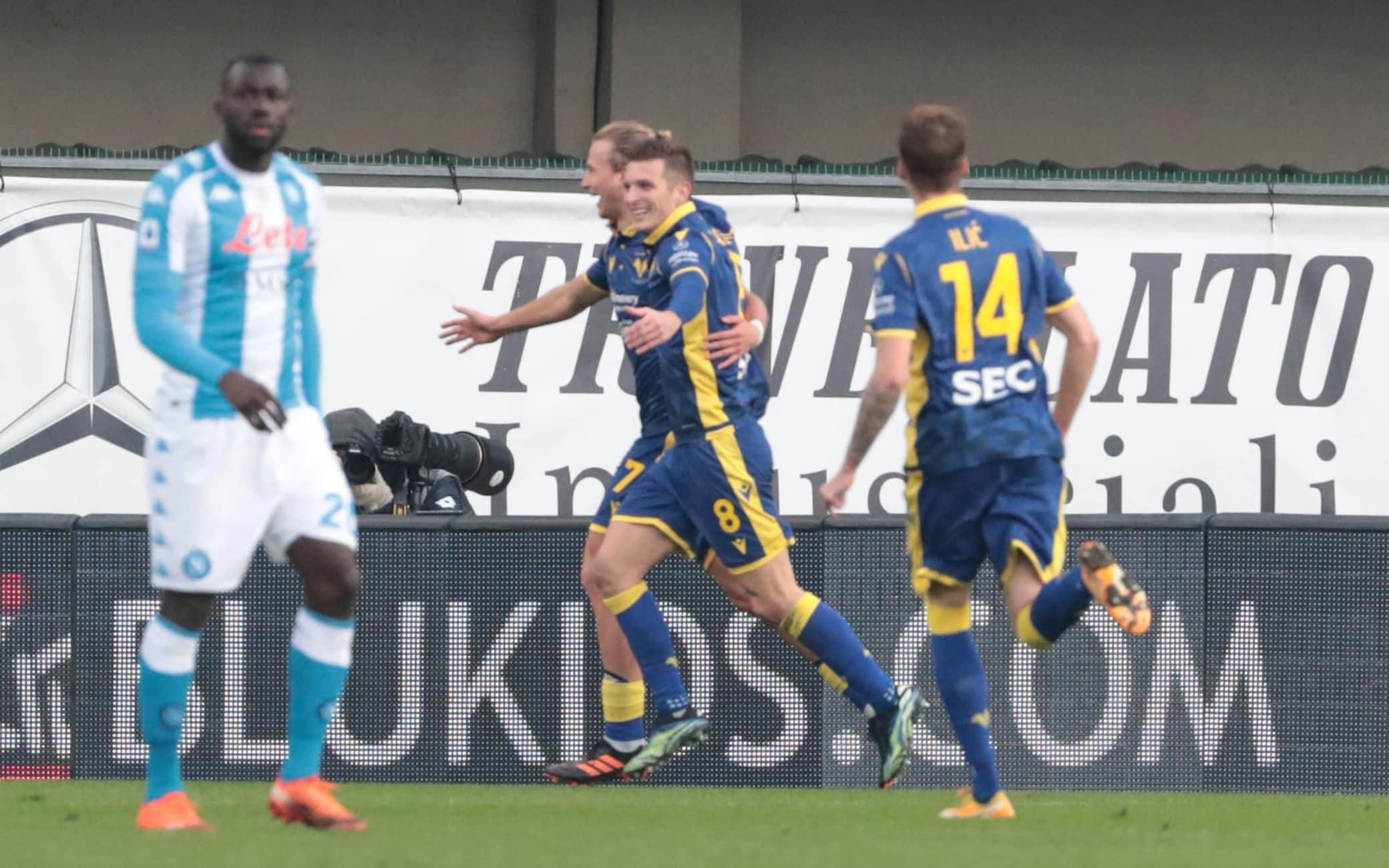 Verona-Napoli 3-1: video, gol e highlights della partita di Serie A