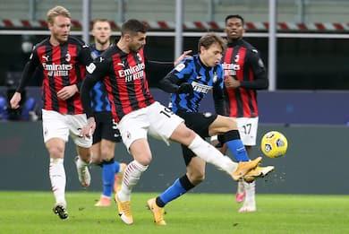 Inter-Milan 2-1, la cronaca della partita di Coppa Italia