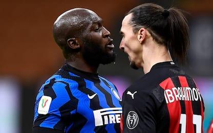 Lukaku e Ibrahimovic, rissa sfiorata durante Inter – Milan