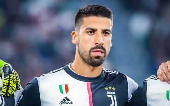 Sami Khedira of Juventus during italian soccer Serie A season 2019/20 of Juventus FC - Photo credit Fabrizio Carabelli /LM