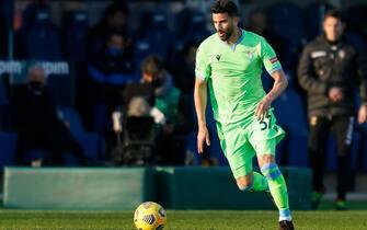 Mateo Musacchio (S.S. Lazio) during Atalanta BC vs SS Lazio , Italian football Serie A match in Bergamo, Italy, January 31 2021