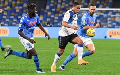 Napoli-Atalanta 0-0, la cronaca della partita di Coppa Italia