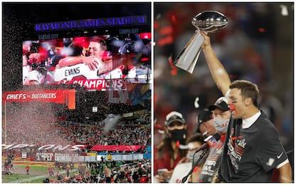 Super Bowl: trionfano i Tampa Bay Buccaneers, Tom Brady nella storia