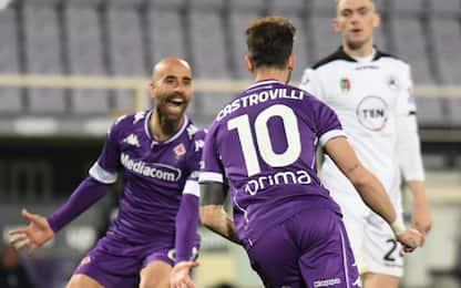 Serie A, Fiorentina-Spezia 3-0: video, gol e highlights della partita