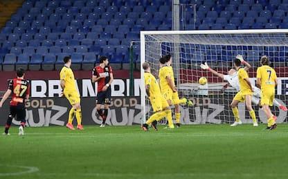 Serie A, Genoa-Verona 2-2: video, gol e highlights della partita
