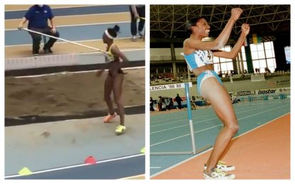 Atletica, Larissa Iapichino da record come la mamma Fiona May