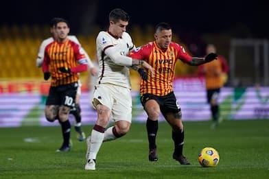 Serie A, Benevento-Roma 0-0: video e highlights della partita