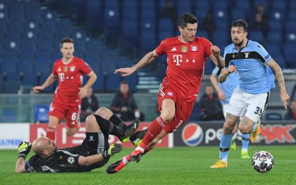 Champions League, Lazio-Bayern Monaco 1-4: video, gol e highlights