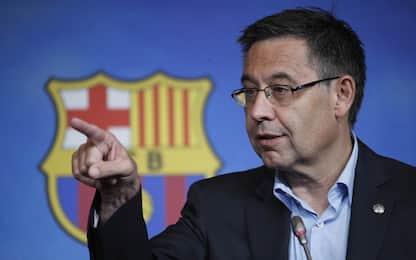 Barcellona, Bartomeu rilasciato non parla col giudice