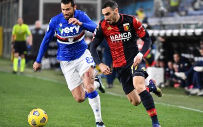 Genoa-Sampdoria 1-1: video, gol e highlights della partita di Serie A