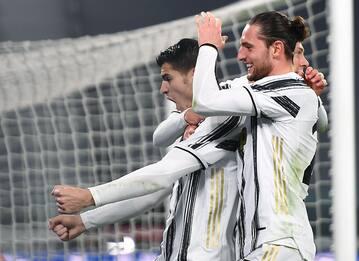 Serie A, Juventus-Lazio 3-1: gol di Rabiot e doppietta di Morata