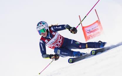 Sci, Marta Bassino vince la Coppa del mondo di slalom gigante