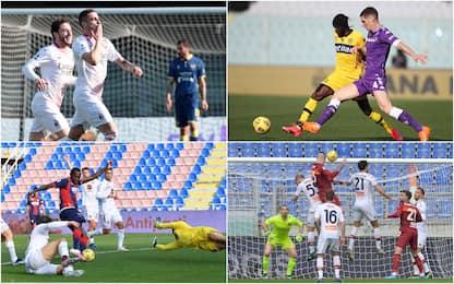 Serie A: vincono Milan, Roma, Napoli, Crotone. Pari Fiorentina e Parma