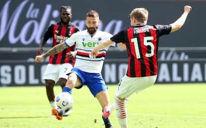 Serie A, Milan-Sampdoria 1-1: video, gol e highlights