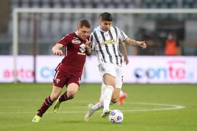 Serie A, Torino-Juventus 2-2: finisce in pareggio il Derby della Mole