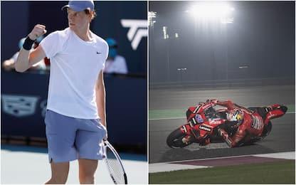 Tennis e MotoGp, la grande domenica di Sky Sport