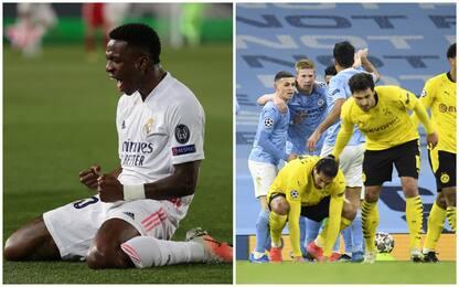 Champions, Real Madrid-Liverpool 3-1 e Man City-Borussia Dortmund 2-1