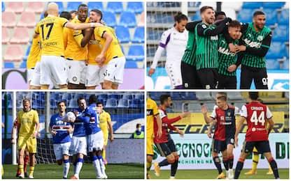 Serie A: vincono Sampdoria, Udinese, Sassuolo e Cagliari. Highlights