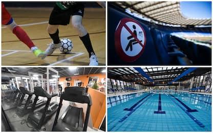 Covid e sport, da stadi a calcetto: ecco come saranno le riaperture