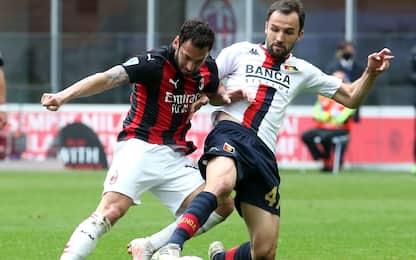Serie A, 31ma giornata: Milan-Genoa 2-1. Tutte le partite live