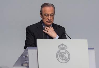 """Superlega, Florentino Perez: """"Così salviamo calcio. Uefa non insulti"""""""