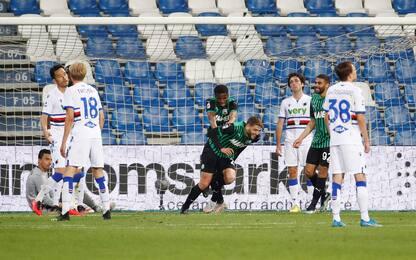 Serie A: Genoa-Spezia 2-0, Parma-Crotone 3-4, Sassuolo-Samp 1-0. VIDEO