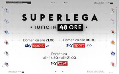 """Superlega, """"Tutto in 48 ore"""". Lo speciale di Sky TG24 e Sky Sport"""