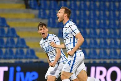 Serie A, 34ma giornata: l'Inter batte il Crotone 2-0