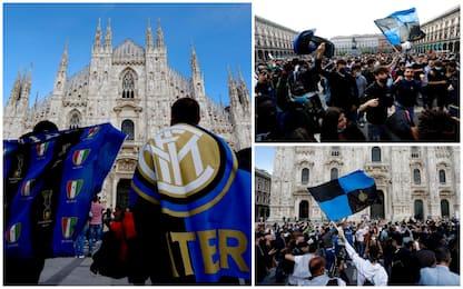 """Inter campione d'Italia, questura: """"30mila tifosi in strada"""". FOTO"""