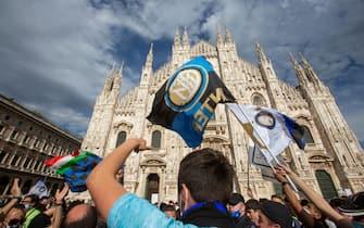 inter campione italia festeggiamenti