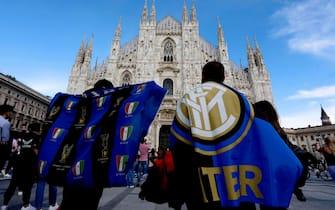 inter campione d'italia festeggiamenti