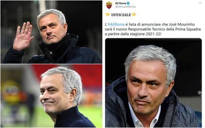 Roma, il nuovo allenatore è José Mourinho