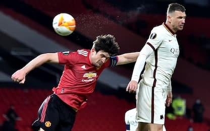 Europa League, in corso Roma-Manchester United 0-0: risultato live
